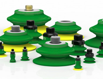 Suction cups, vacuum pumps, accessories