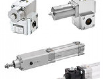 Accessories for pneumatic cylinders