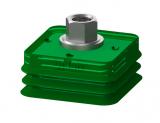 Rectangular bellows (20x45–60x60 mm)